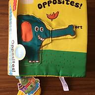 Sách vải Opposites - Sự đối lập, tương phản. thumbnail