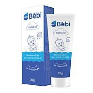 Kem Bebi chống nẻ - cân bằng độ ẩm, giảm khô nẻ cho da bé - an toàn cho bé - Tuýp 20g thumbnail