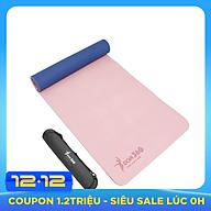 Thảm tập yoga DOPI360 cao cấp hai lớp siêu bám DP5500 Tặng kèm túi và dây thumbnail