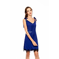 Dreamy VS18 Váy Ngủ Lụa Cao Cấp Hai Dây Cột Nơ Dáng Suông Trẻ Trung Quyến Rũ thumbnail