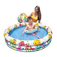 Bể Bơi 3 in 1 Họa Tiết Dễ Thương 132cmx28cm thumbnail