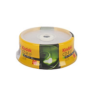 Bộ 25 Đĩa CD-R 12X 700MB Kodak UBL EC0123 thumbnail