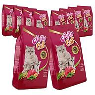 ( Combo 10 Gói ) Thức Ăn Cho Mèo Tất Cả Các Giống Vị Cá Ngừ - Hello Cat Tuna 4KG ( 400g x 10Gói ) thumbnail