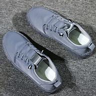 Giày Lười Nam Vải Đế Cao Su Nguyên Khối, Vải Thoáng Khí, Lót Cotton Thấm Hút Mồ Hôi Tự Nhiên+ Tặng Tất Cotton thumbnail
