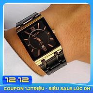 Đồng hồ nam HALEI 564 mặt vuông thời trang cao cấp thumbnail