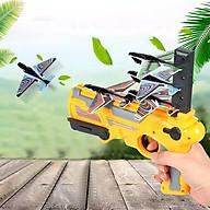 Đồ chơi bắn phóng máy bay giấy lên trời Giao màu ngẫu nhiên thumbnail