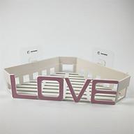 ComBo 2 Kệ góc nhà tắm cách điệu chữ LOVE thumbnail