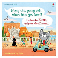 Usborne Pussy Cat, Pussy Cat, Where Have You Been I Ve Been To Rome And Guess What I Ve Seen... thumbnail