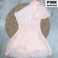 Váy Lệch Vai Nơ Organza Thiết Kế PINKBOUTIQUE thumbnail