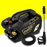 Máy rửa xe gia đình, may rua xe công suất mạnh 2800W có thể chỉnh áp, may rua xe mi ni, máy rửa xe áp lực cao, máy xịt rữa xe dễ dàng sử dụng, ống bơm nước 15m, vòi bơm áp lực cao C0004B4 thumbnail