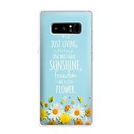 Ốp lưng điện thoại Samsung Galaxy Note 8 - 01062 7811 Cúc Họa Mi 03 - Silicone dẻo - Hàng Chính Hãng thumbnail