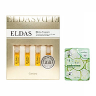 Hộp 4 ống tế bào gốc Eldas EG Tox Program Coreana phục hồi da, chống lão hóa 2ml x 4 + Tặng Kèm 1 Mặt Nạ Dưỡng Da Dưa leo 3W thumbnail