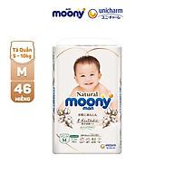Tã Bỉm Quần Cao Cấp Moony Natural Size M46 L36 XL32 Bề Mặt Bông 100% Cotton Organic thumbnail