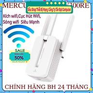 Bộ kích sóng wifi Mercusys MW300re 3 râu cực mạnh,Kich wifi,cục hút wifi,kích sóng wifi hàng - Hàng Chính Hãng thumbnail