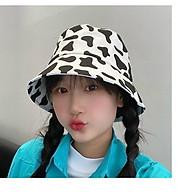 Mũ Bò Sữa xu hướng thời trang, họa tiết cá tính thumbnail