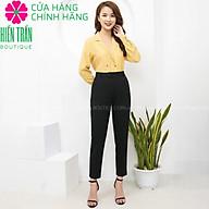 Quần tây nữ Hiền Trần BOUTIQUE chất vải cao cấp 3 màu, âu công sở mặc tôn dáng thumbnail