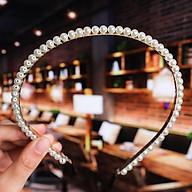 Bờm tóc đính đá siêu sang ngọc trai nhân tạo cho nữ - chất liệu cao cấp, thời trang Hàn Quốc thumbnail