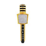 Micro không dây Micro karaoke Bluetooth 3 trong 1 PF16 Gold thumbnail