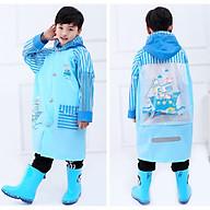 Áo mưa trẻ em cao cấp hình thú đáng yêu cho bé 4-10 tuổi AM005 thumbnail