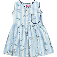 Đầm Gài Nút Trước Túi Ngực Sọc Xanh Alice Cục Kẹo T102001 thumbnail