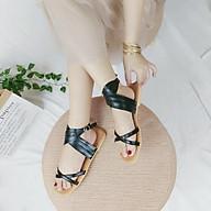 Sandal nữ quai chéo phong cách la mã quai buộc cổ chân đi chơi thumbnail