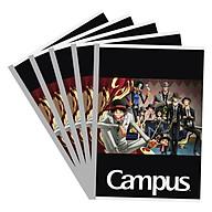 Lốc 5 Vở Viết A4 One Piece Campus NB-A4OT200 - Mẫu Ngẫu Nhiên (200 Trang) thumbnail