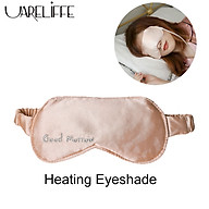 Uareliffe Silk Sleep Eye Mask Electric Three Levels Intelligent Constant Temperature Sleeping Blindfold Eye Care Heating Massager Relieve Fatigue Steam Shading Washable Eye Masks Portable Travel Household Eyepatch thumbnail