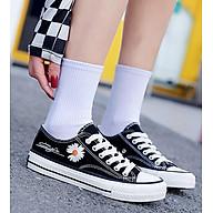 Giày thể thao nữ cổ thấp thời trang mới nhât 230 thumbnail