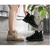 Giày Boots Nữ Da Lộn Cá Tính Phong Cách Hàn Quốc Mery Shoes - MBS351 thumbnail