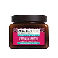 Mặt nạ ngăn ngừa tóc hư ARGANICARE KERATIN HAIR MASQUE 500ml ISRAEL thumbnail