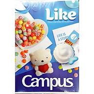 Lốc 10 quyển vở kẻ ngang Campus Gift 80 trang (giao mẫu ngẫu nhiên) thumbnail