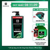 Dầu gội cao cấp Romano Classic cổ điển lịch lãm tóc chắc khỏe 900gr thumbnail