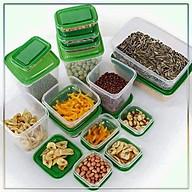 Set 17 hộp đựng thực phẩm trong tủ lạnh đa năng thumbnail
