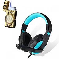 Tai nghe chụp tai kèm mic đàm thoại CT-770 dành cho game thủ chống nhiễu, chống ồn tốt + Tặng hộp quẹt bật lửa ngọn móng rồng cao cấp (màu ngẫu nhiên) thumbnail