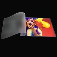 Màng Ép Plastic A5 MEDIA inkjet, Màng Ép Nhựa Plastic, Kích Thước 16 x 22cm (A5), Độ Dày 40-60-80 Micro, 100 Tờ, Lưu Trữ Bảo Vệ Tài Liệu, Ảnh Màu Khỏi Bụi Bẩn, Ẩm Móc Và Nước - Hàng Chính Hãng thumbnail