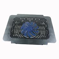 Đế tản nhiệt 11 cánh quạt làm mát laptop có đèn PKCB89 Đen - Hàng Chính Hãng thumbnail