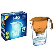 Combo Bình lọc nước LAICA J11A Đỏ Cam và 02 Lõi lọc nước (MADE IN ITALY) thumbnail