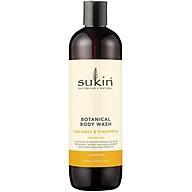 Sukin Botanical Body Wash Pineapple & Coconut 500ml thumbnail