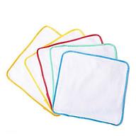 Tấm lót chống thấm cho bé - 10 Tấm giao màu ngẫu nhiên (Tặng kèm khăn ăn cổ sen) thumbnail