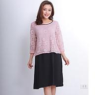 Đầm bầu, váy bầu hoa ren thời trang công sở thumbnail