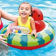 Phao bơi chống lật INTEX 56592 xỏ chân cho bé, chất liệu nhựa PVC an toàn, kiểu dáng dưa hấu kích thích thị giác của trẻ thumbnail