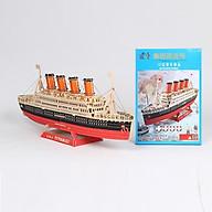 Đồ chơi lắp ráp gỗ 3D Mô hình tàu Titanic thumbnail