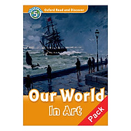 Oxford Read and Discover 5 Our World In Art Audio CD Pack thumbnail