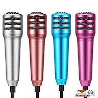 Micro Karaoke Mini cho các loại smartphone điện thoại có tai nghe kèm thumbnail