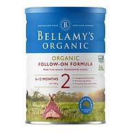 Sữa Bột Bellamy s Organic Số 2 (900g) thumbnail