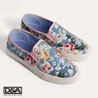 Giầy slipon nữ D&A L1607 Bò in hoa thumbnail