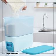 Thùng gạo Tupperware Chính Hãng - Màu Mới Xanh Paradise thumbnail