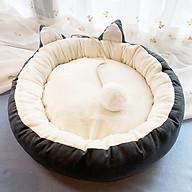 Nệm ngủ tròn mèo đuôi bông cho chó mèo (Giao màu ngẫu nhiên) thumbnail