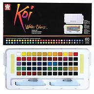 Màu nước nén Koi Water Colors 60 màu thumbnail