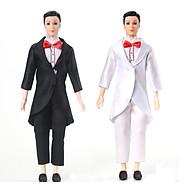 Set 3 bộ trang phục vest cho búp bê Ken thumbnail